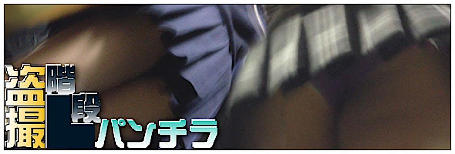 無料アダルト動画:追い撮り!!階段パンチラ:丸見えまんこ