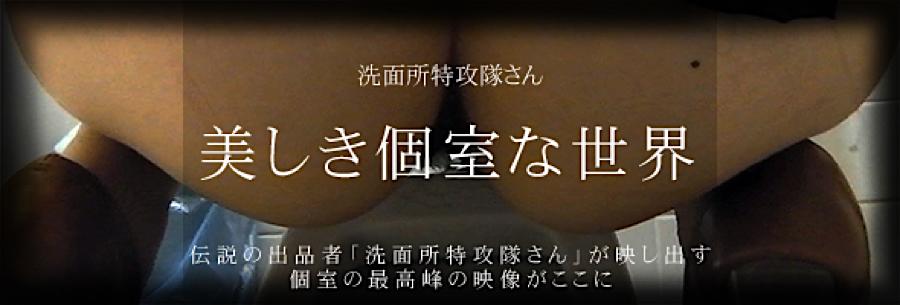 無料アダルト動画:美しき個室な世界:無修正オマンコ