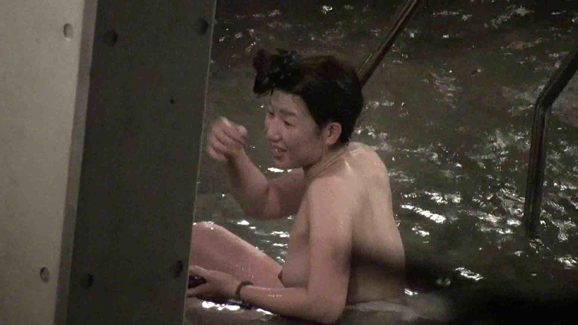 Aquaな露天風呂Vol.398 盗撮  59連発 45