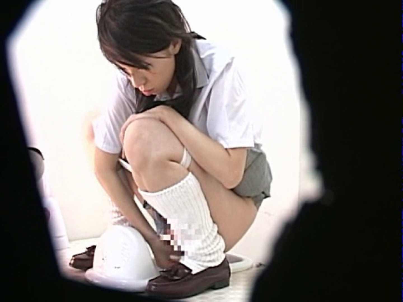 M字開脚制服女子を真下から盗撮! 厠 われめAV動画紹介 56連発 17