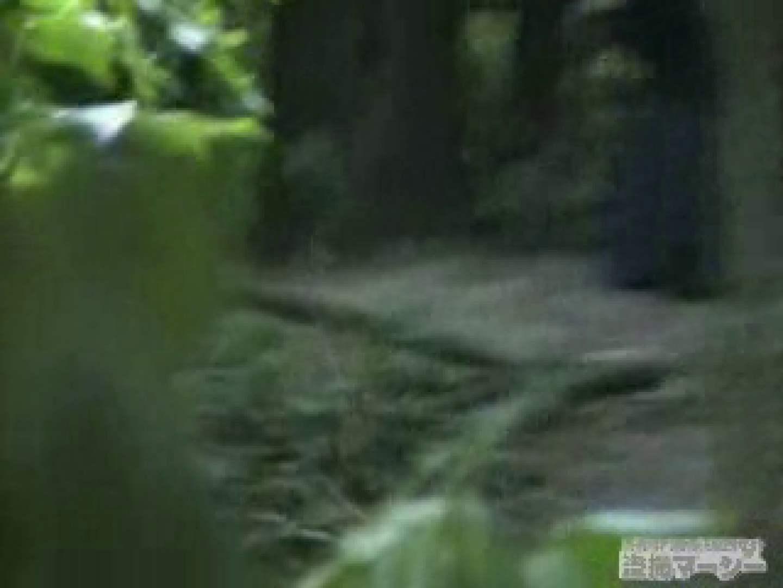 衝撃!ウエデイングドレスを着て野外発射! 黄金水 オマンコ動画キャプチャ 103連発 35