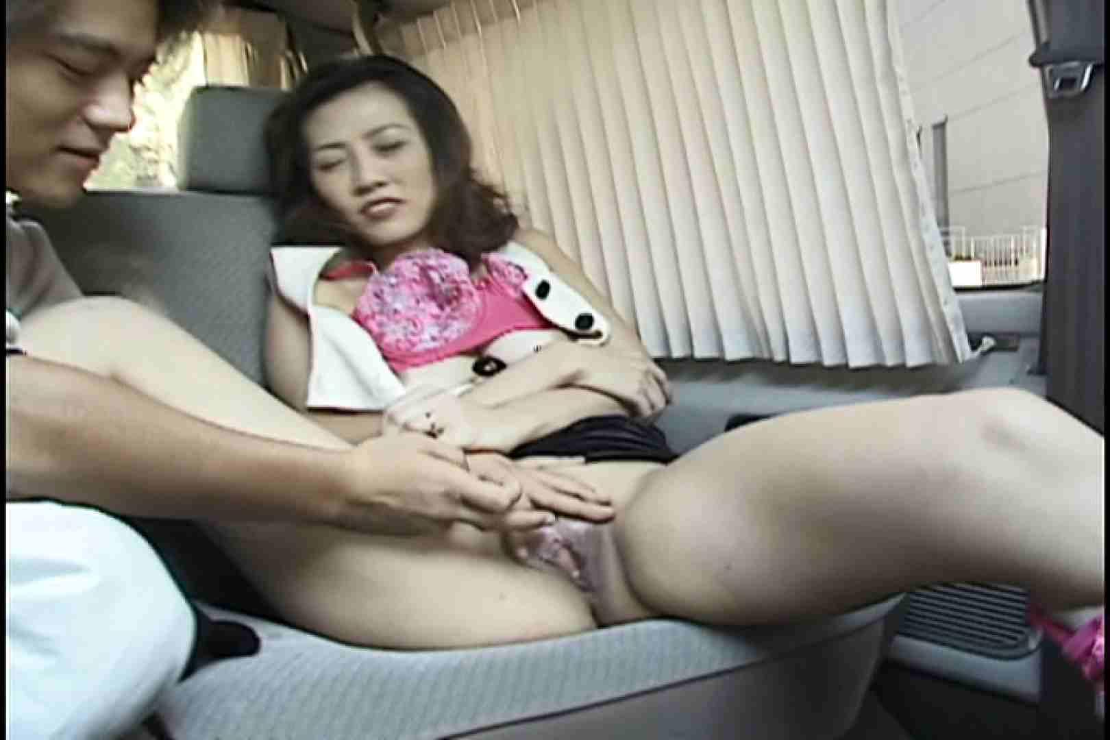 美巨乳Eカップの三十路美人妻と淫乱SEX~島田琴江~ 車 セックス画像 64連発 43