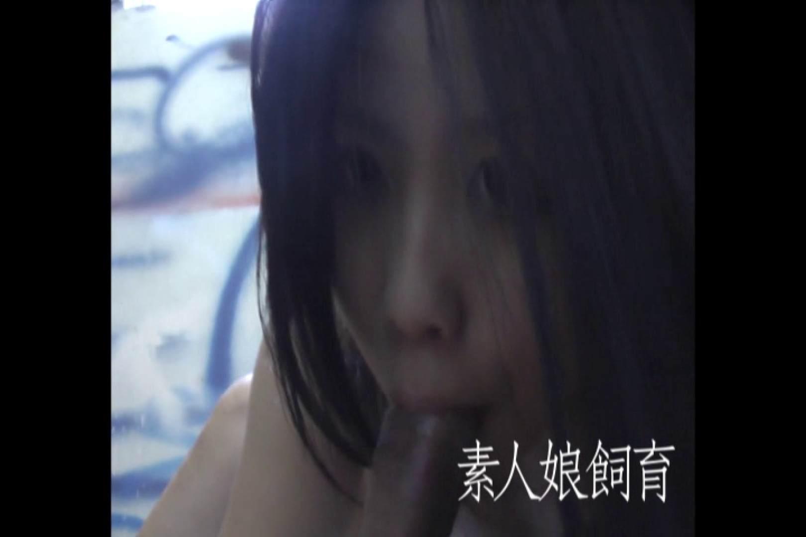 素人嬢飼育~お前の餌は他人棒~非常階段で中出し フェラ オメコ動画キャプチャ 34連発 23
